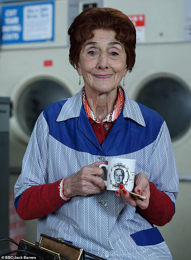 Saying goodbye:June Brown has reportedly quit EastEnders after 35 years playing Dot Cotton