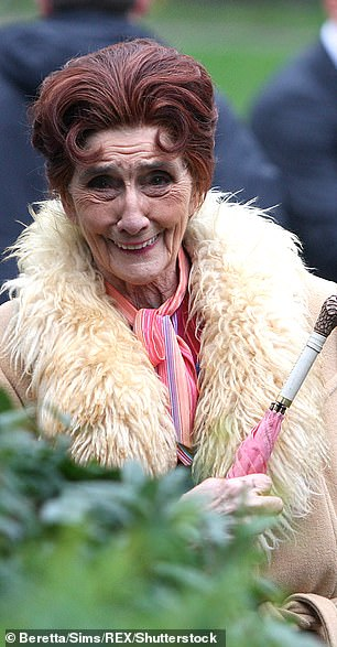 Bowing out: June, who has been on the show for more than three decades, said: 'It's almost as if I've been bereaved. I've left' (pictured in 2011)