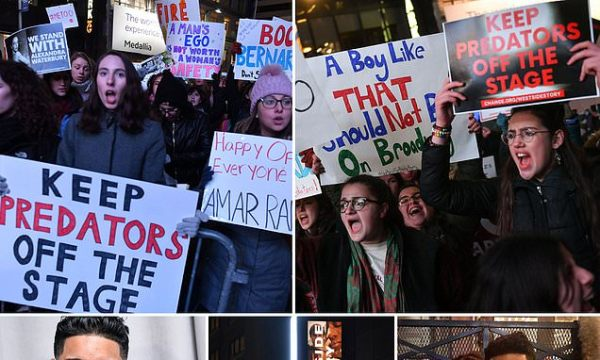 Protesters descend on