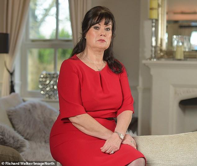 Deborah Gradon (pictured) was torn between grief and fury when she heard a week ago that Love Island presenter Caroline Flack had taken her own life