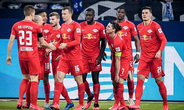 Schalke 0-5 RB Leipzig: Werner blasts home to keep side above Dortmund