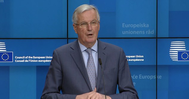 Michel Barnier warned that the negotiations would be 'very difficult' as he confirmed his mandate had been approved by the EU today