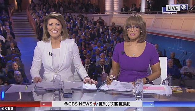 Viewers have savaged CBS' handling of Tuesday night's Democratic debate, which was moderated by Norah O'Donnell and Gayle King