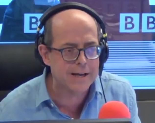 The BBC Today host revealed how he drove to hospital to be met by a nurse in full protective gear for a test through his car window, and is now spending 48 hours at home to wait for the results