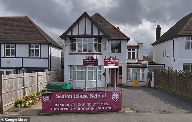 The school (pictured) wants the bowling club out and are refusing to renew the lease on the club's HQ, which they plan to demolish and rebuild as a school outbuilding