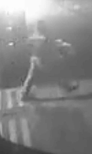 The crooks forced their way into Dove House Hospice, Hull, before CCTV captured them running out of the door with the stolen goods