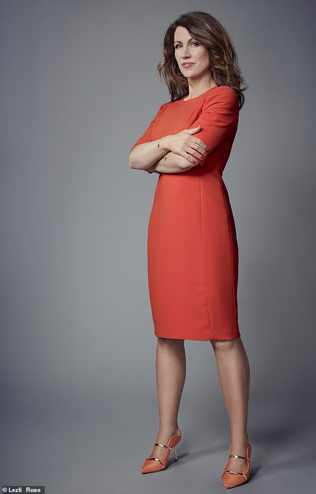 Susanna Reid says she has a long-held reputation in the studio for being someone who doesn't do professional PDA