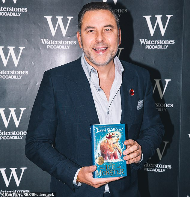 David Walliams' 'The Ice Monster' book signing at a Waterstones book store in Piccadilly in London in November 2018