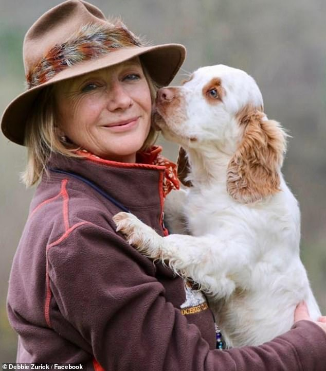 Debbie Zurick, 56, a dog trainer who once worked for Princess Anne, is believed to have been shot dead on Saturday by her estranged husband John, 67