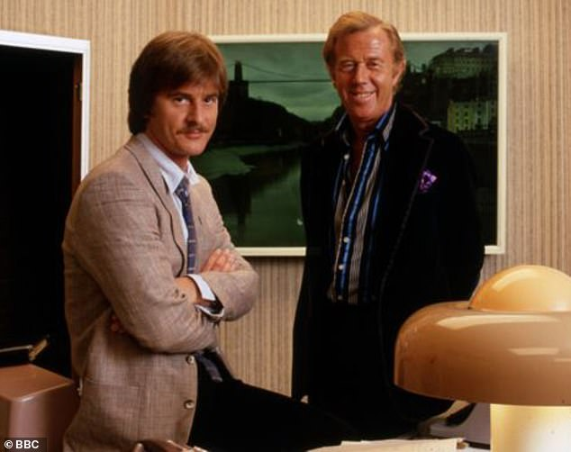 Medwin (pictured right) as Don Satchley alongside Trevor Eve as Eddie Shoestring in the TV drama which ran for two series between 1979 and 1980
