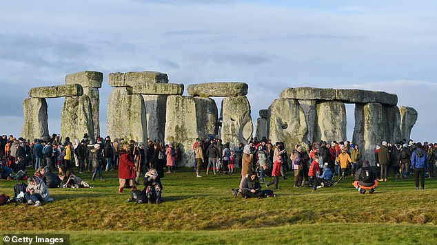 A planned £2bn tunnel underneath Stonehenge, pictured, is under threat as the Government considers scrapping the controversial project which has been condemned by UNESCO