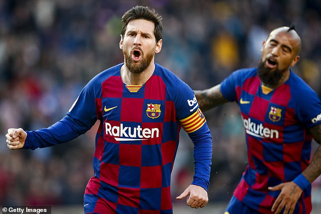 Lionel Messi was back to his best as he ended his small goal drought with four against Eibar