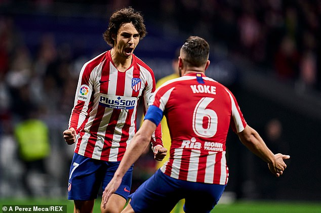 Atletico Madrid continue their push to secure Champions League football next season