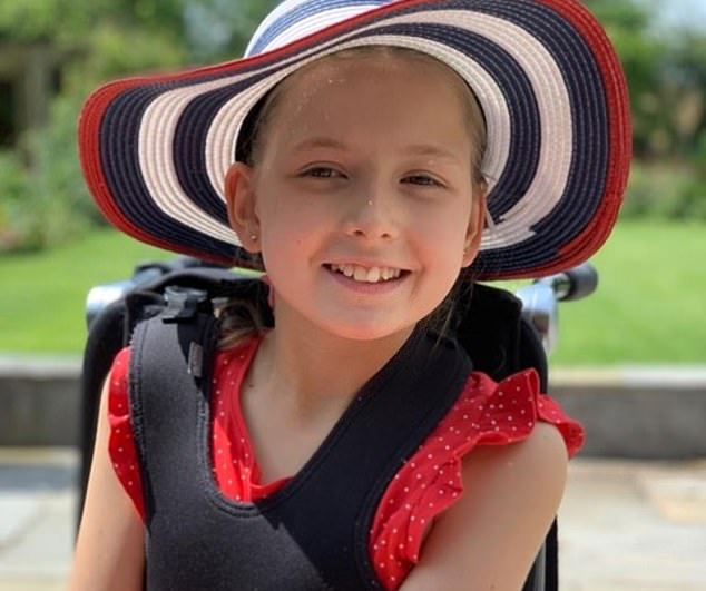 Ava Morton, who was diagnosed with a rare and terminal illness called Metachromatic Leukodystrophy (MLD)