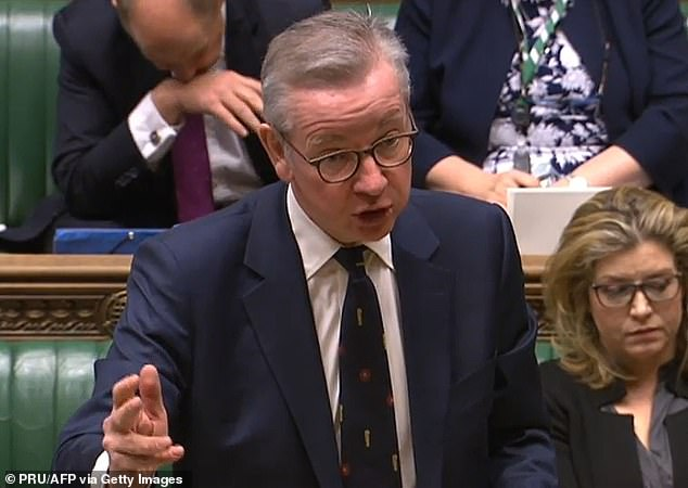 Michael Gove (pictured) was charged with updating the House on the Government¿s Brexit strategy yesterday. Of course he was. For years the Govester has been the Government¿s man for big occasions, writes Henry Deedes