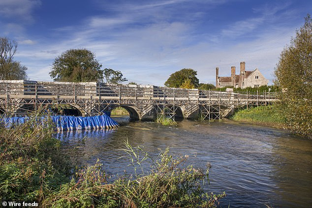 Parts of Wool Bridge in Dorset collapsed into the river in January 2018 after falling into a substandard condition