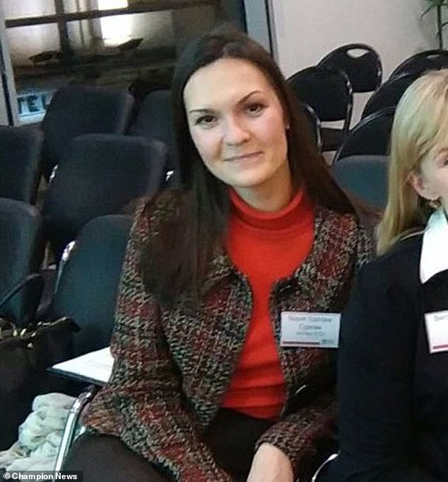 Mr Levy told senior lawyer Maria Udalova-Surkova (pictured): 'I hope you are not going to poison me' just days after the poisoning of Sergei Skripal and his daughter in Salisbury in March 2018. But Mr Levy took them to an employment tribunal after they turned him down for a job as a solicitor even though he was the only candidate