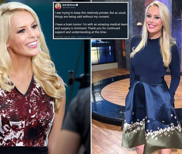 Fox Nation Host Britt Mchenry Says She Has A Brain Tumor Daily