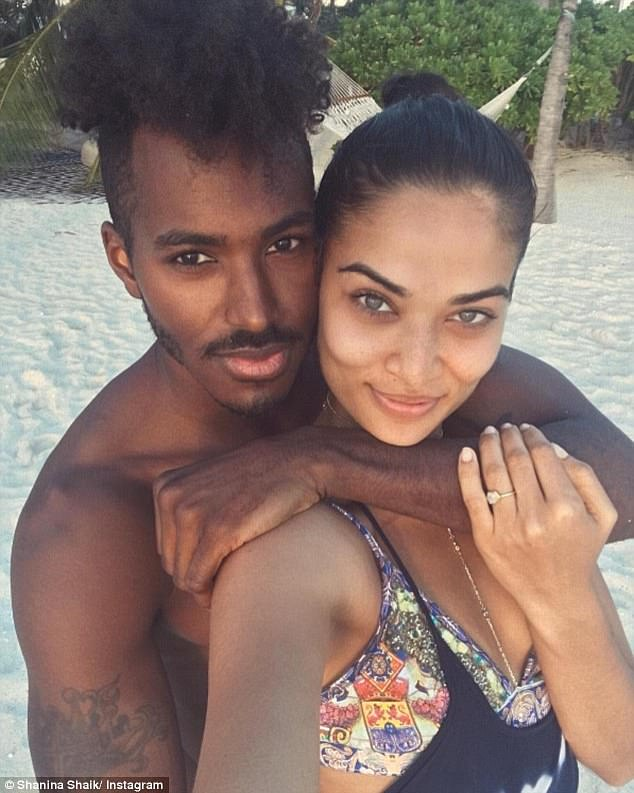 Moving on: It comes after her divorce from DJ Ruckus, real name Gregory Andrews (left), was made official on Thursday, January 23