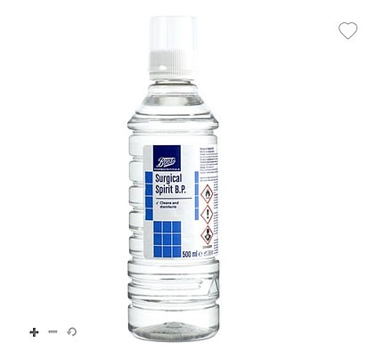 Surgical spirit online can be used to make an alternative to antibacterial hand gel