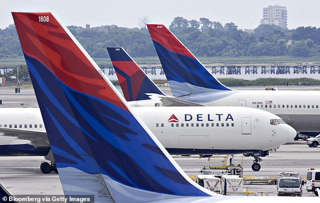 To add insult to injury, Cassidy wrote that the flight attendant didn¿t show him much empathy. Delta Air Lines planes are seen above at John F. Kennedy International Airport in New York in this 2009 file photo