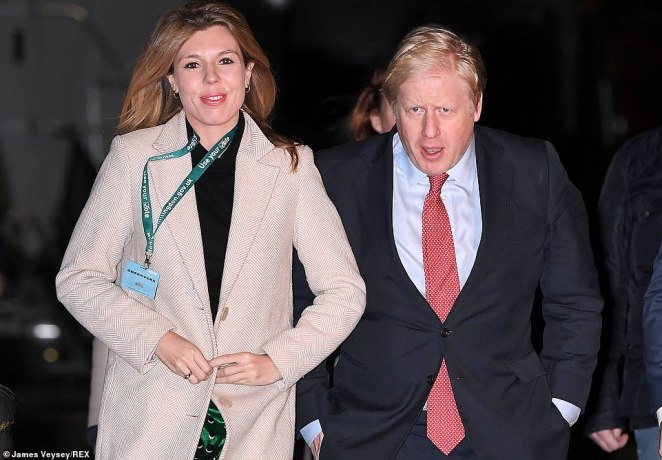 The couple chose to live at the larger four-bedroom flat at No 11 Downing Street instead of the smaller two-bedroom official residence at No 10
