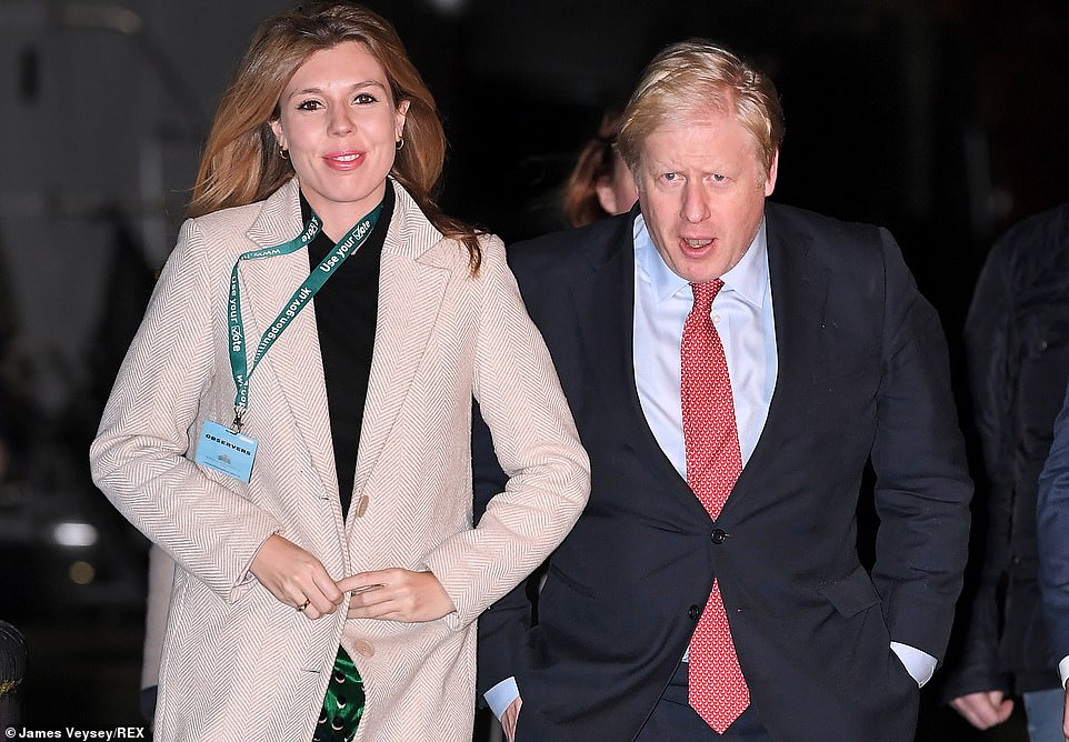 The couple chose to live at the larger four-bedroom flat at No11 Downing Street instead of the smaller two-bedroom official residence at No10
