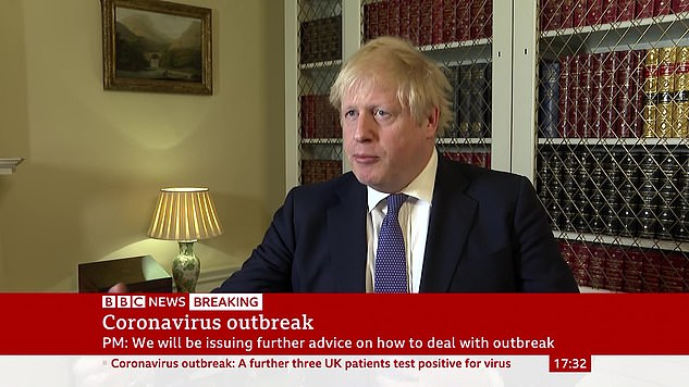 Yesterday, the Prime Minister pushed back at accusations of weak leadership and claimed that preventing a major British outbreak was the government's 'top priority'