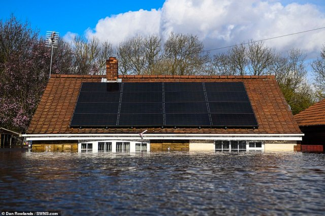 Kevin and Catherine Lorryman have been left 'heartbroken' at the prospect of losing their modest bungalow in the market town of Snaith after the River Aire burst its banks and flood plains were left overwhelmed this weekend