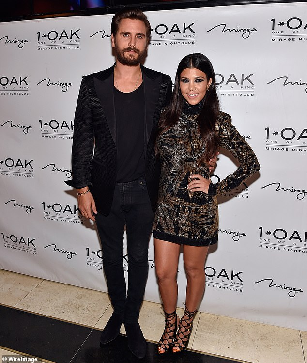 Old ties: The Flip It Like Disick star also shares an older son, Mason, 10, and a daughter, Penelope, seven, with his former partner Kourtney Kardashian, 40