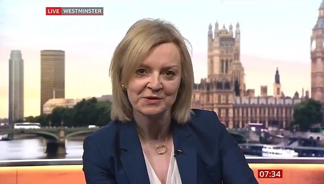 Trade Secretary Liz Truss hit back this morning at warnings from France that the negotiations will get 'nasty' unless access is granted for the EU fleet to British waters
