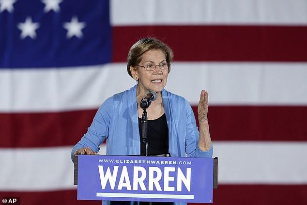 Two women still standing: Massachusetts senator Elizabeth Warren and Hawaii congresswoman Tulsi Gabbard are the youngest two of the five Democratic candidates