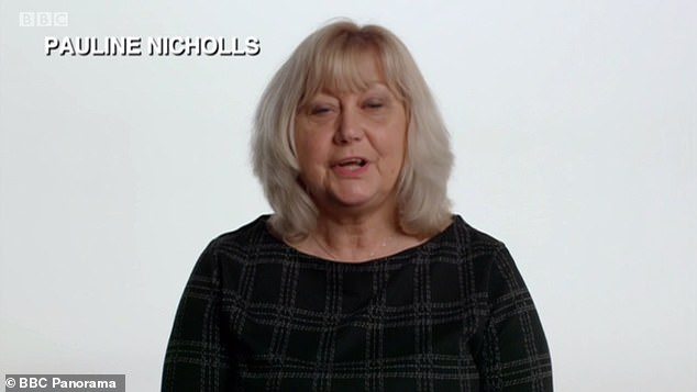 Pauline Nicholls said: 'I feel angry. Angry and upset. Angry that someone could do that knowing that there's nothing wrong with the computer, just to extort money from you - and upset with myself that I fell for it'
