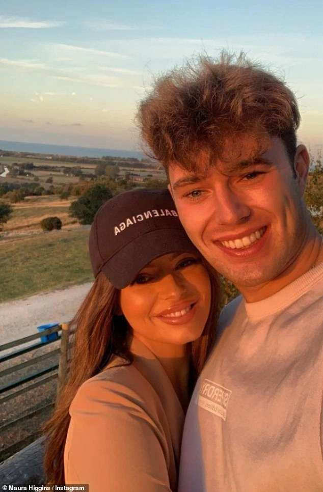 20 weeks later: The former couple only made their relationship 'official' in October 2019, meaning that they were boyfriend and girlfriend for just 20 weeks in total