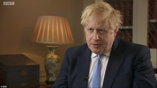 With Boris Johnson (pictured in an interview last night) warning of a 'mass epidemic', officials are urgently trying to speed up the six-month process of becoming a hospital volunteer