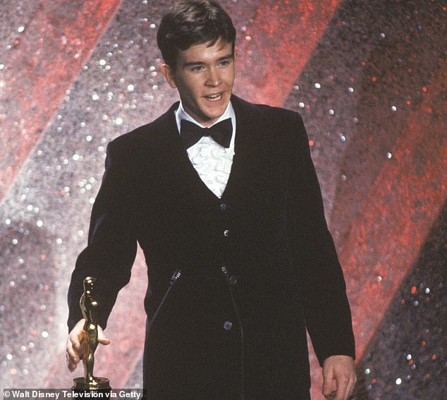 The alleged assault occurred a couple years after Hutton won a Best Supporting Actor Oscar for his role in Ordinary People. He is seen accepting the award in 1981