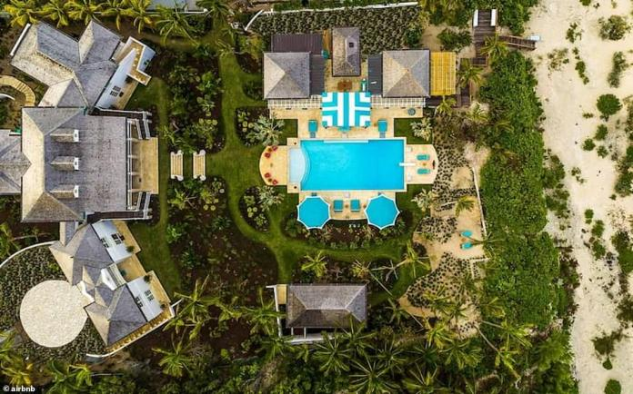 Luxury: Villa Rosalita has been newly built for the more discerning holidaymaker and comes with a fleet of staff including a chef, housekeeper, pool maintenance worker and gardener, with laundry service also available
