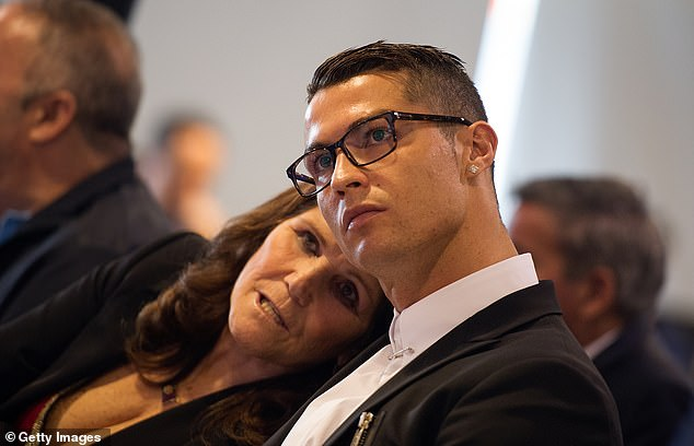 Cristiano Ronaldo with his mother Dolores in 2016, when the Portuguese football star was still playing for Real Madrid