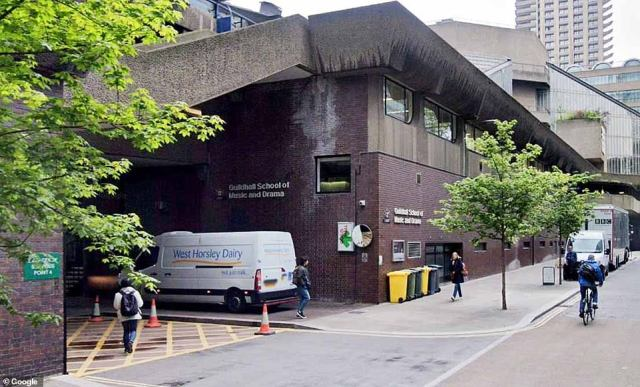The prestigious Guildhall School of Music and Drama, located in the heart of London, will be closed for up to 14 days as a precaution
