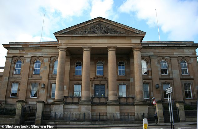 Murdo MacLeod QC, defending, told Dundee Sheriff Court (pictured) it was 'scarcely possible to imagine two more trivial linked incidents'