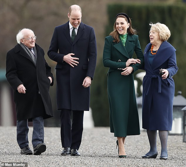 Prince William and Kate Middleton will carry on meeting people as normal in Ireland but are taking advice on the coronavirus threat