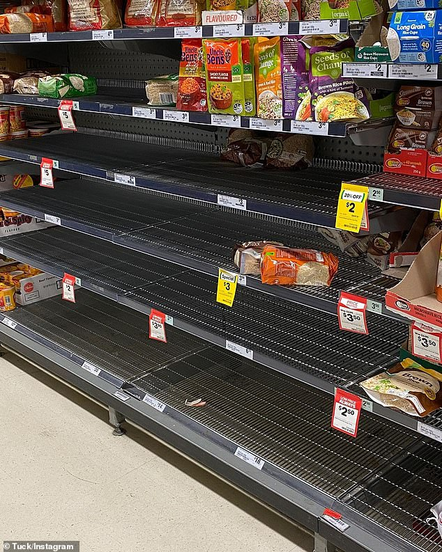 Australians are panic-buying items such as toilet paper, pasta and medication due to coronavirus