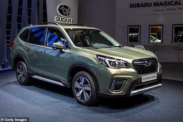 Pictured: Subaru Forester e-Boxer XE Premium. Some cars such as the new Forrester were given a poor rating