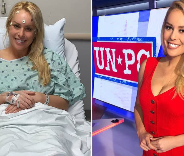 Fox Nations Britt Mchenry  Undergoes Brain Surgery To Remove