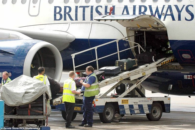 Two BA baggage handlers have been infected with coronavirus, it was confirmed on Friday. Pictured is a file photo