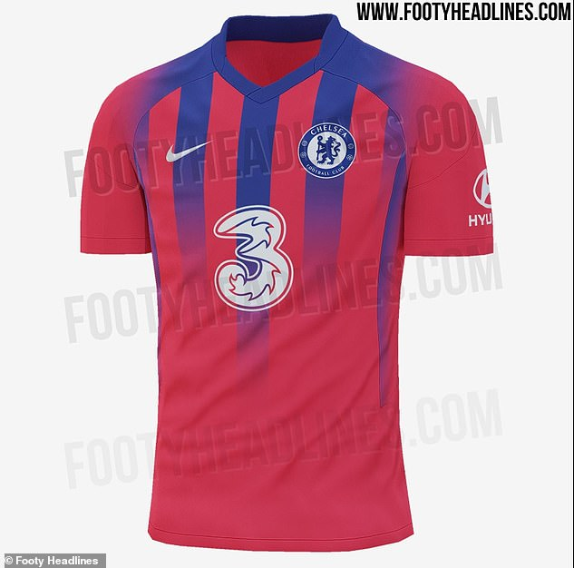 Pictures of Chelsea's leaked potential third kit for the 2020-21 season have surfaced online