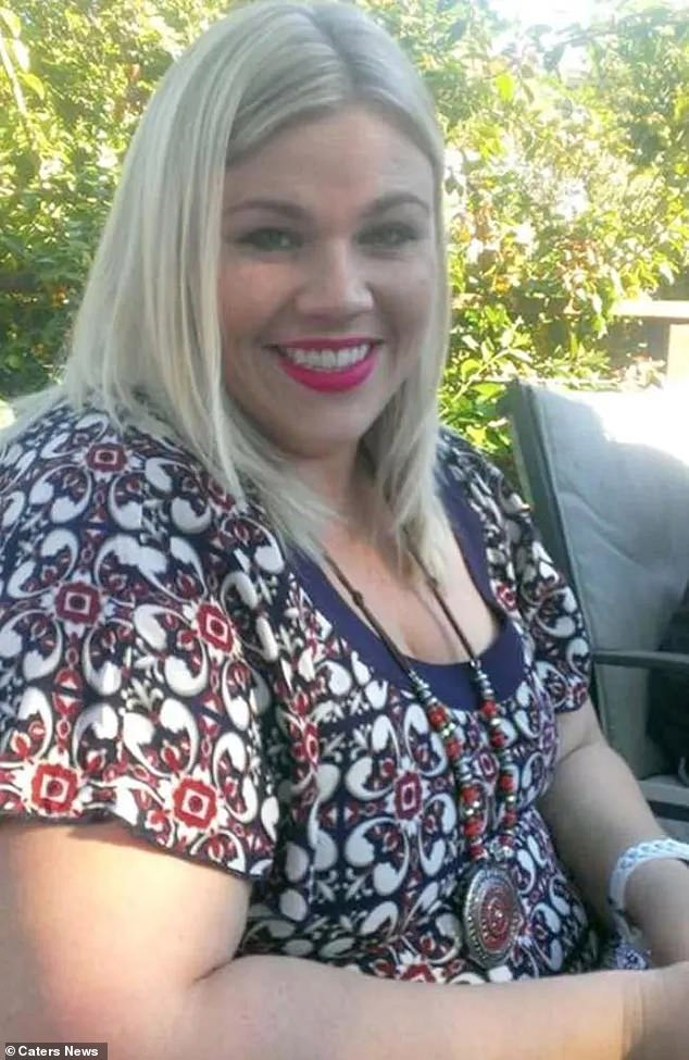 Ms Morrison struggled with her weight until she was 27. She was active and didn't live off takeaway food but admits her portion sizes were too big