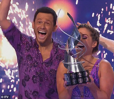Champs! Joe Swash and Alex Murphy have won Dancing On Ice 2020