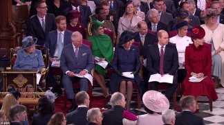 Prince Harry and Meghan Markle Became Emotional and Upset About Being Dropped from Queen's Arrival Party for Final Outing with Royal Family, Forcing Prince William and Kate to Step In and Defuse the Situation