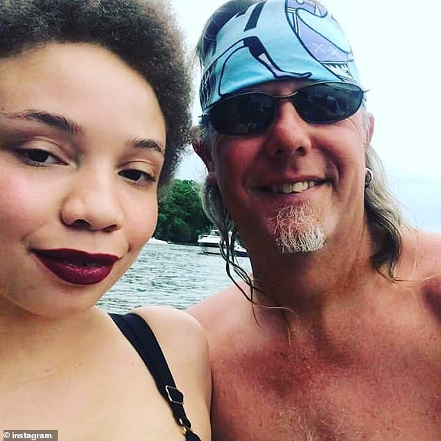 Former couple: Pankow (pictured above with Mikaela) refused to prosecute over the alleged domestic assault